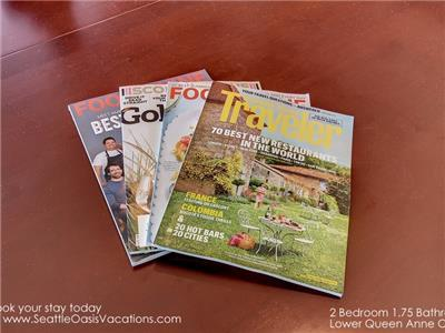 We think of everything down to the magazines!