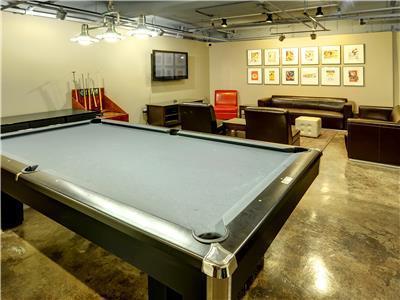 ELEKTRA Common Areas Pro Game Room, Community Room