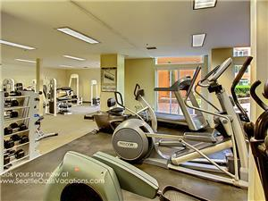 Fitness Center--24 hours!