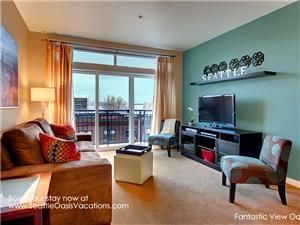Livingroom and Small Balcony