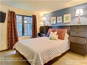 Master Bedroom with Queen Size Bed, plenty of stor
