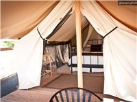 Luxury Tents in Davenport