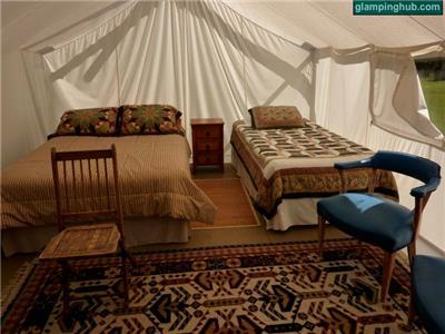 Luxury Tents in Grangeville