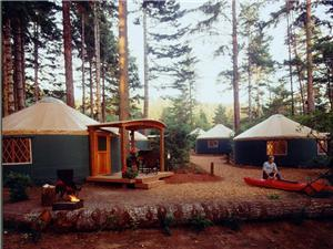 Pacific Yurts - Company in Cottage Grove