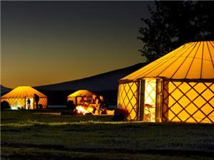 Camping Yurts - Company in Summer Lake