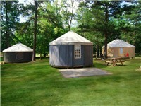 Yurts in Pine Mountain