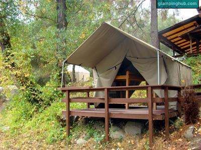 Luxury Tents in Coloma