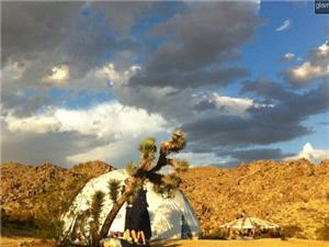 Dome in Joshua Tree