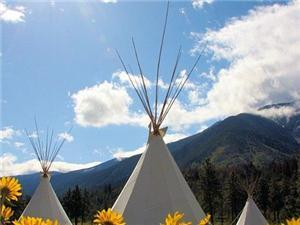 Tipi in Lytton