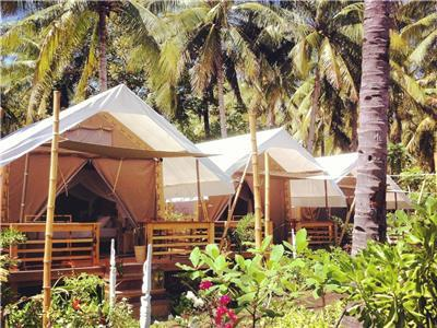 Luxury Tents in Gili Trawangan