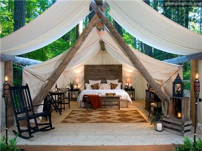 Luxury Tents | Cabins in Olympia