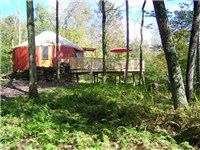 Yurts in Livingston Manor