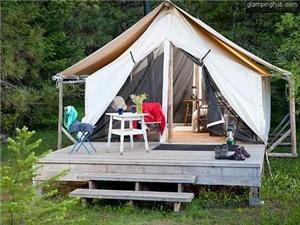 Luxury Tents in Ashland