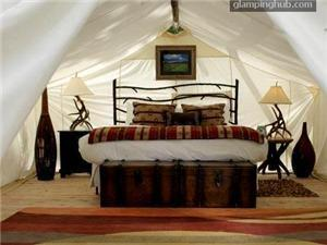 Luxury Tents | Cabins in Faia