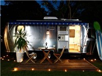 Caravan in Byron Bay