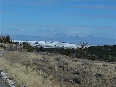 Pryor Mountains in the distance