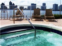 Relax on the waterfront Jacuzzi