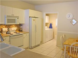 Fully Equipped Kitchen & Laundry Room