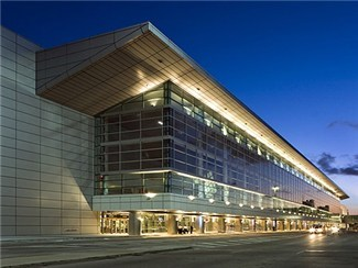 South Terminal Exterior - Photo by Steven Brooke