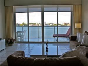 Intracoastal View from your Living Area