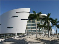 American Airlines Arena - Sports Center in Miami