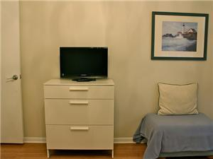 Guest Bedroom counts with an LCD TV