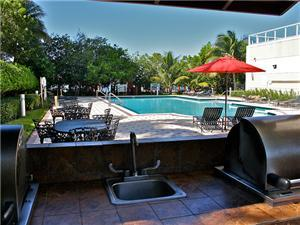 Outdoor amenities just steps from the beach