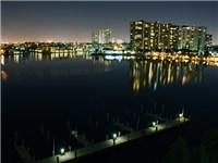 Amazing Intracoastal Views at night