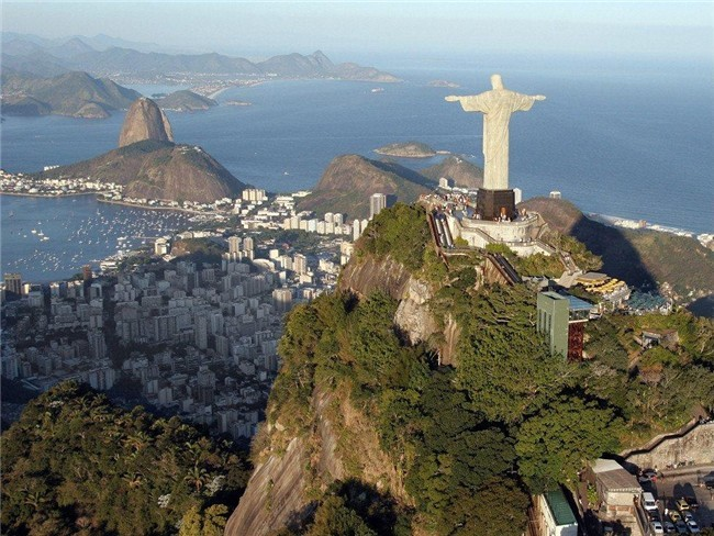 Cristo Redentor on the top of Corcovado Hill