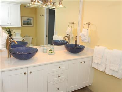 Master Bathroom - double sink