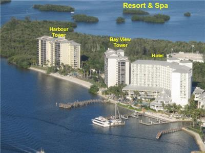 Aerial View of Sanibel Harbour Resort