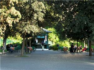 The nearby Colle Oppio, a public garden