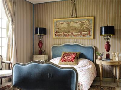 Blue Bedroom in the Grand Maison