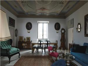 Historic Paintings and antique furnishings