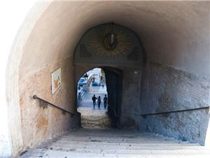 This secret passage goes to the Monti neighborhood