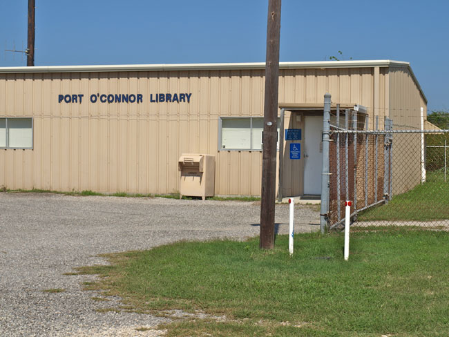 Port O Connor Library