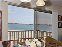Bay view while you dine!