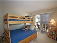 Unique bunk bed sleeps four