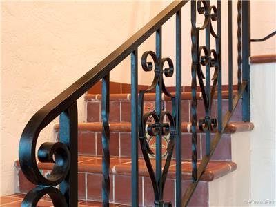 Fabulous wrought iron work