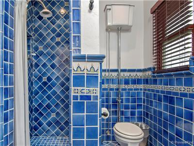 Central hall bath, shower & loo!