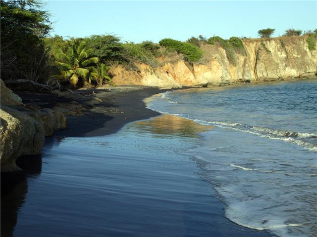 Playa Negra - Black Sand Beach - Vieques, PR