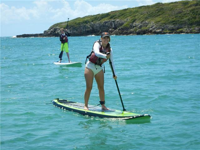 Paddleboarding Vieques