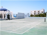 Mykonos tennis court