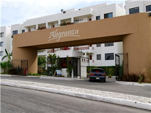 The front entrance to Alegranza