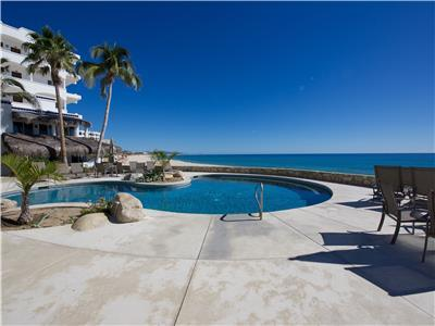 Go from the pool directly into the ocean