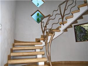 Stairs to 3 bedrooms