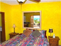 Casita Bedroom with king size bed