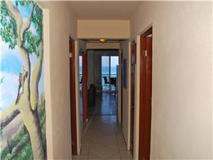 Hallway entrance loking out through terrace