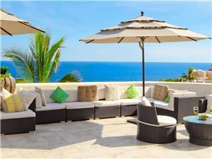 Patio furniture and lounge chairs