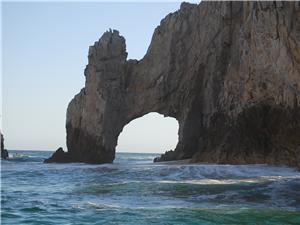 World famous Arch of Cabo San Lucas